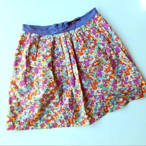 Body By Victoria Floral Skirt